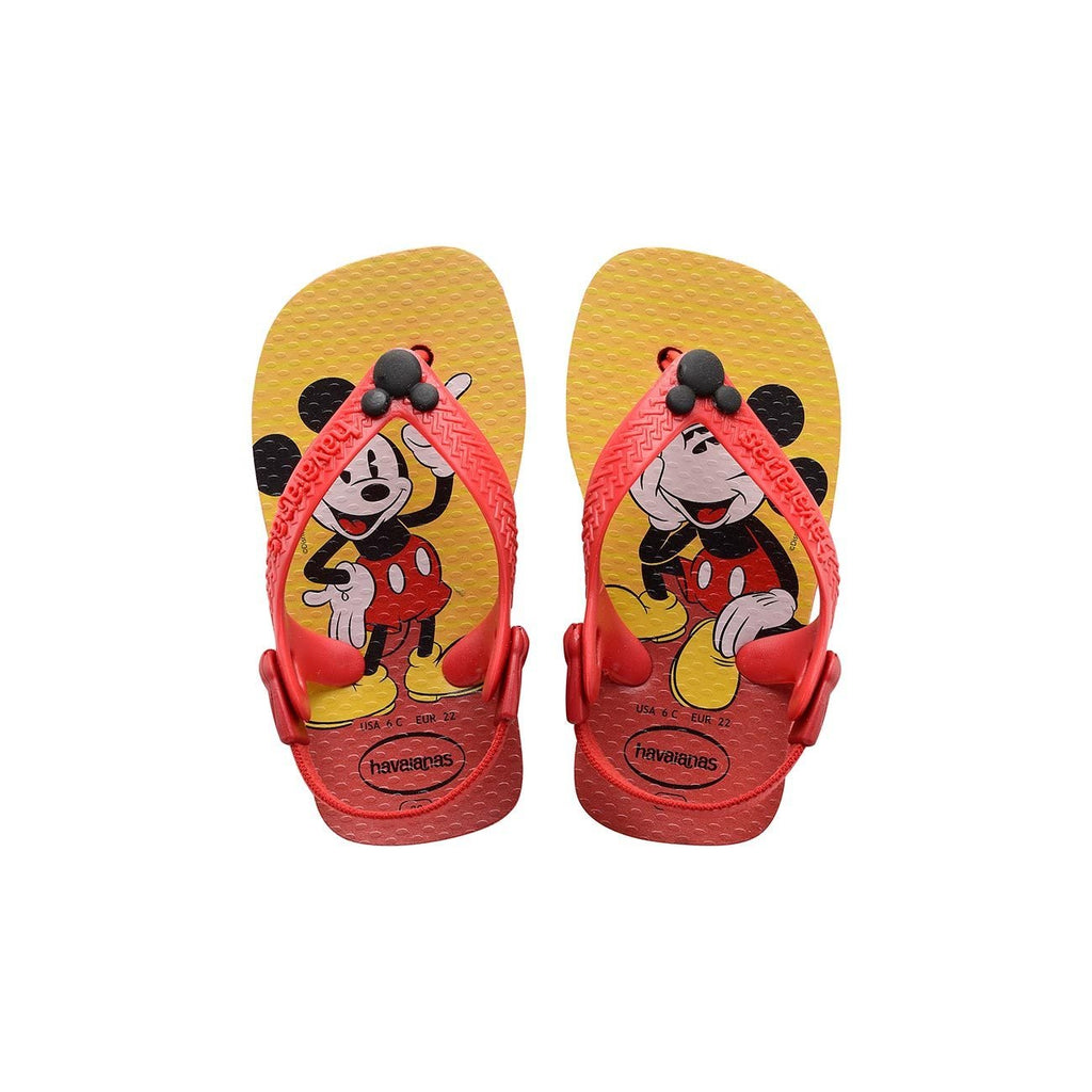 HAVAIANAS BABY DISNEY CLASSICS - RED.BLACK