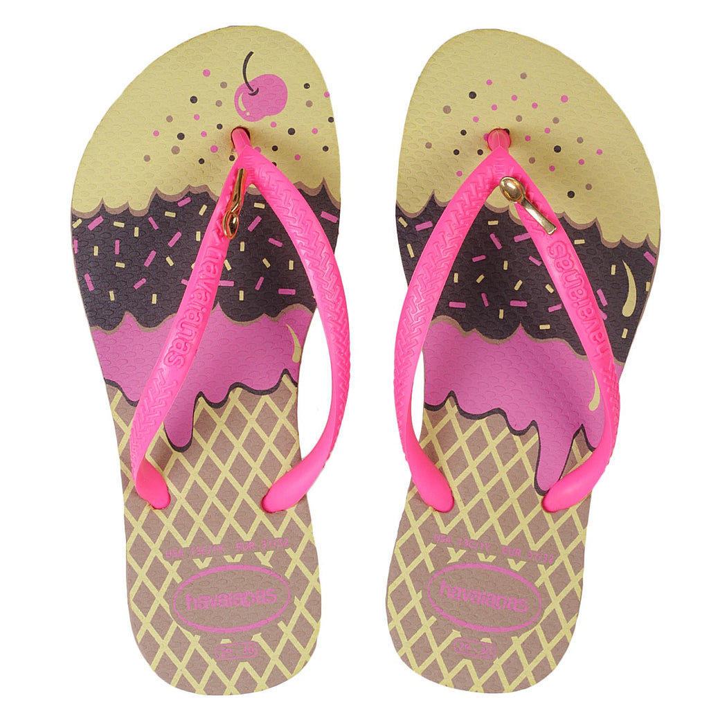 HAVAIANAS KIDS SLIM POP - ROSE GOLD