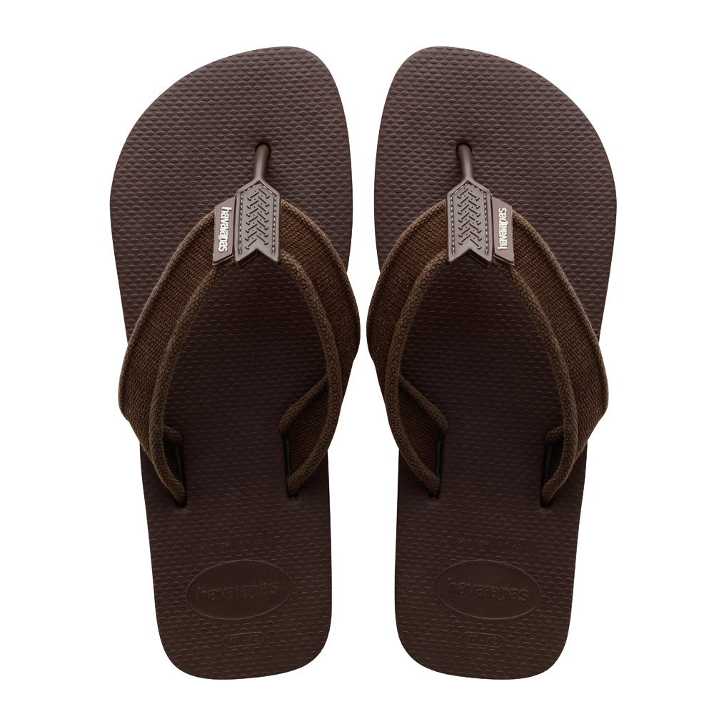 HAVAIANAS URBAN BASIC II - DARK BROWN