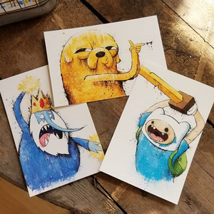Adventure Time Postcard