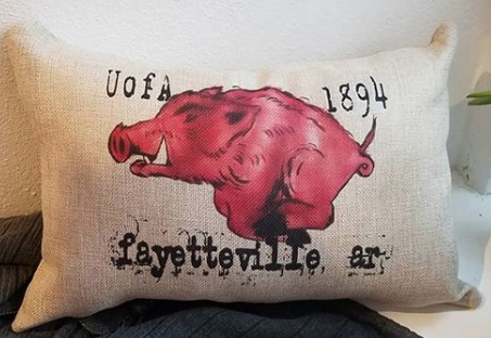 Razorback Pillow