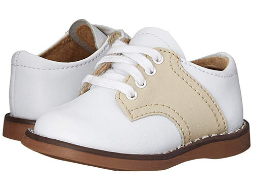 Cheer Saddle Oxfords Ecru