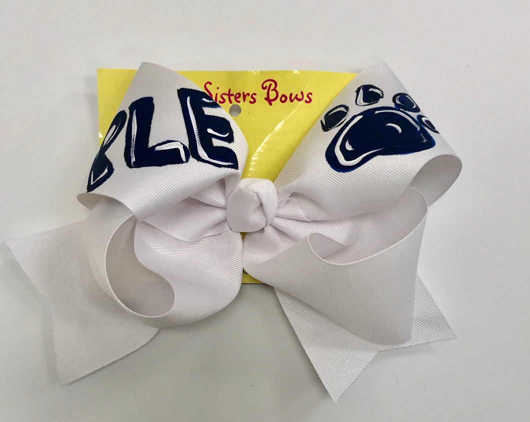 Hand Painted PLE X-Large Bow