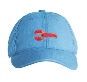 Blue Crawfish Baseball Hat