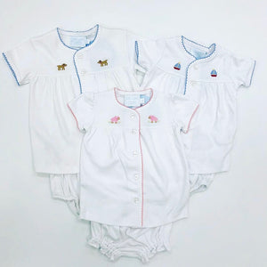 Pinpoint Layette Set Sailboat