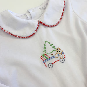 Boy Christmas Wagon Set