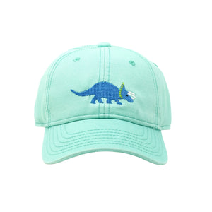 Triceratops Needlepoint Hat