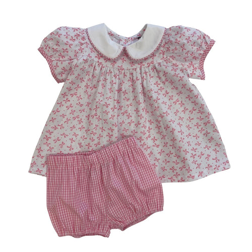 Ribbons & Bows Girls Bloomer Set