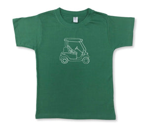 Green Golf Cart T-shirt