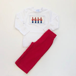 Toy Soldier Smocked Tee