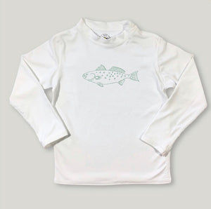 Speckled Trout Sleeve Rash Guard