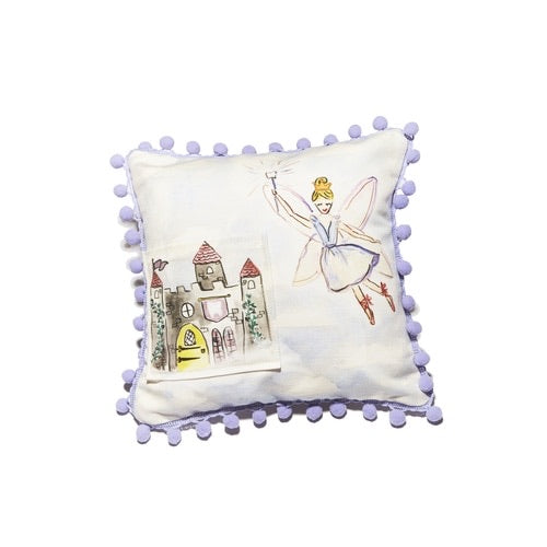 Tooth Fairy Pillow w/Pompom