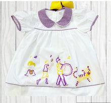 Load image into Gallery viewer, Tiger Classic Game Day Dress- Purple & Gold