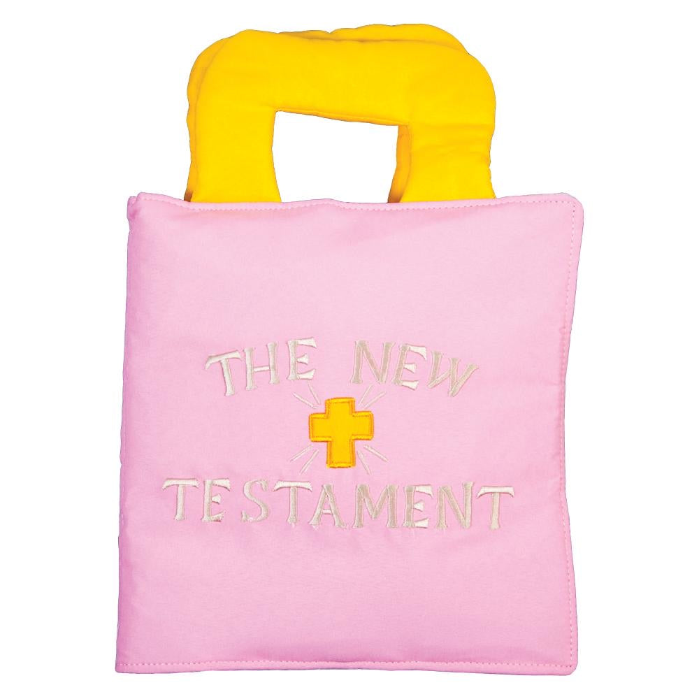 The New Testament Soft Book Pink