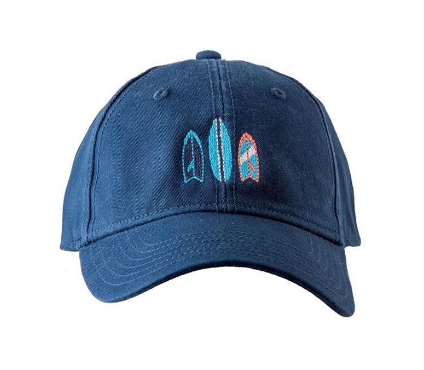 Surfboard Needlepoint Hat