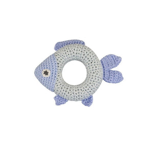 Ring Rattle Blue Fish