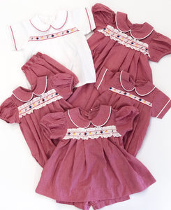 Back To School Ribbon Dress