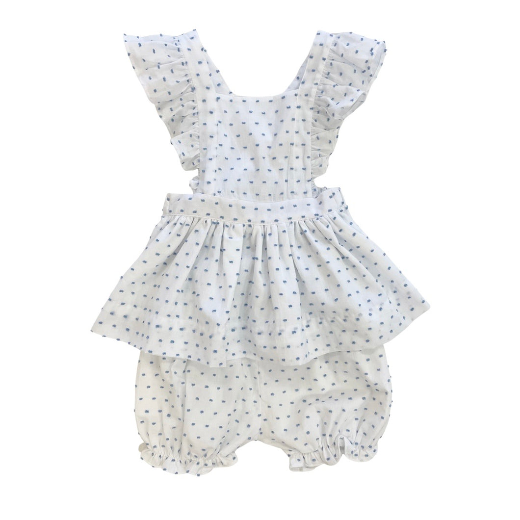 Savannah Swiss Dot Bloomer Set