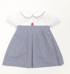 Girl mini gingham apple Dress