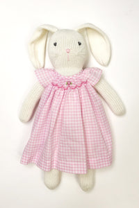 Bunny in Dress Pink