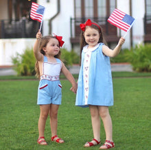 Load image into Gallery viewer, Patriotic Parade Dress