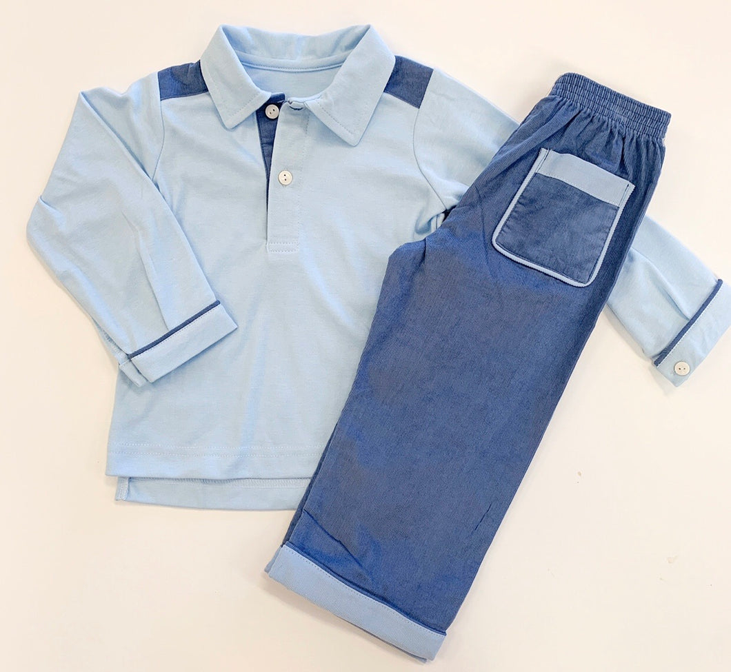 Prince George Polo/Pant Set