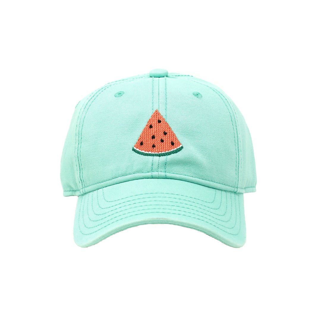 Watermelon Needlepoint Hat