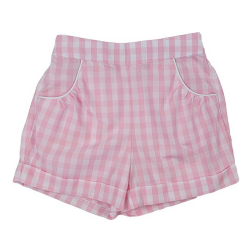 Bailey Short Pink Plaid