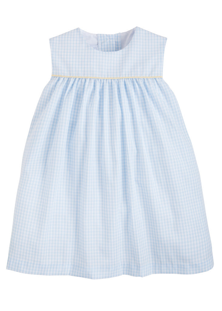 Bellemeade Dress- Blue/Yellow