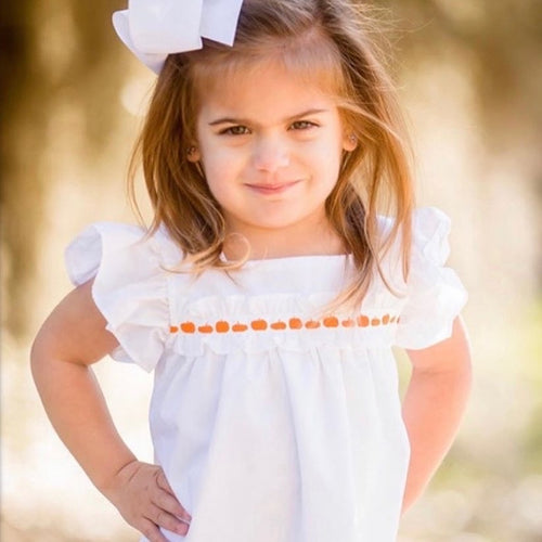 LL White Pumpkin Dress