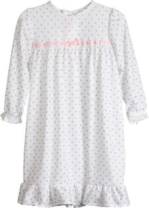 Pink Rosebud Night Gown
