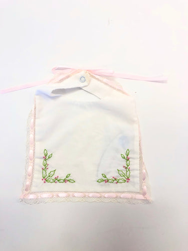 Holly Pink Bib