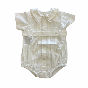 Elijah Boy Bubble White