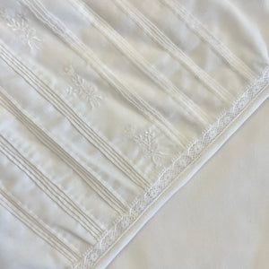 White Lace Blanket