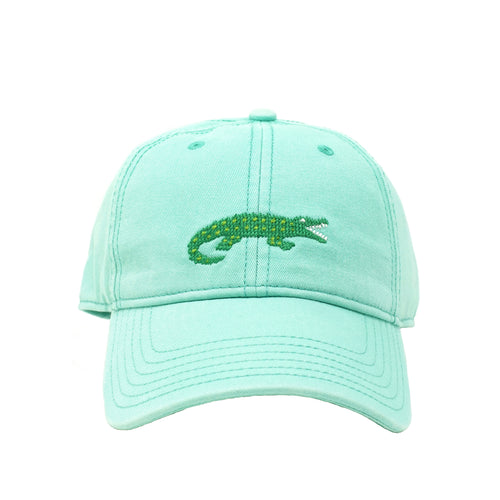 Alligator Needlepoint Hat