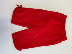 Girl Red Cord Bow Pants