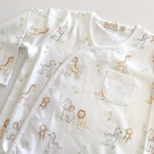 Printed Footie- Safari