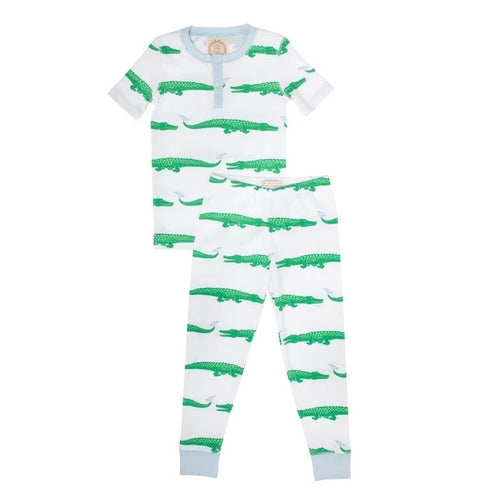 Sutton's Short Sleeve Set Gator Pond Pals