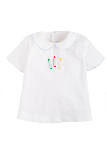 Crayon Whip-stitch Day Shirt