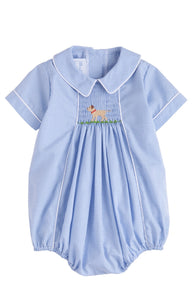 Lab Chest Smocked Bubble (mini gingham)