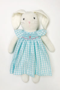 Bunny in Dress Turquoise