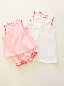 Lucy Set Pink Ric Rac