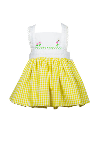 Busy Bee Pinafore Dress