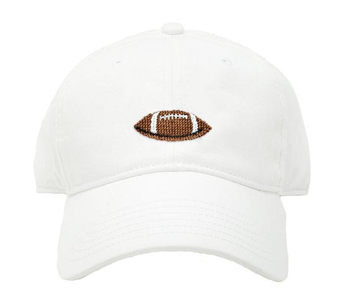 White Football Hat