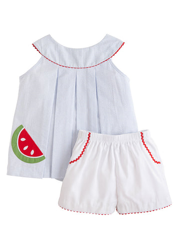 Watermelon Robin Short Set