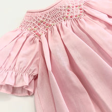 Load image into Gallery viewer, Pink Bishop Smocked Day Gown