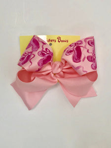 Light Pink Ballet Bow
