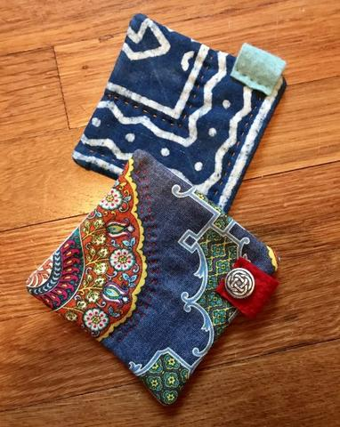 Handstitching - Mug Rugs!