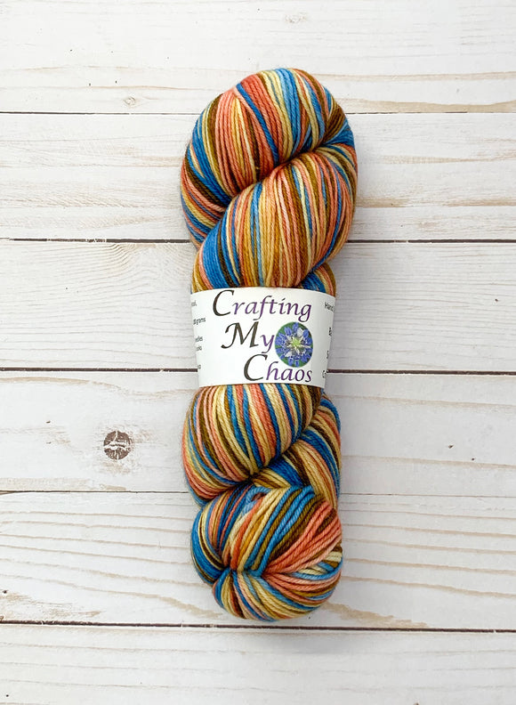 Crafting My Chaos Self-Striping Yarn
