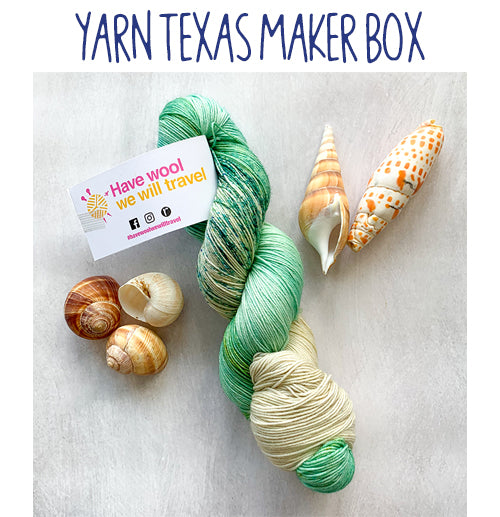 Yarn Texas Maker Box for June 2020 - Sold Out!!